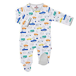 Magnetic Me® by Magnificent Baby Roadtrip Magnetic Footie in White