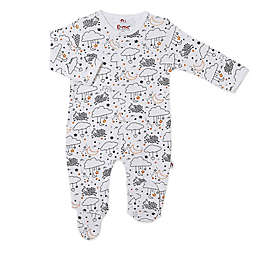 E=MC2 Sheep Magnetic Footie in White