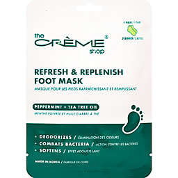 The Crème® Shop Peppermint Teatree Oil Foot Mask