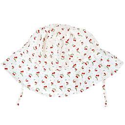 Tiny Treasures Cherry Bucket Hat in Red