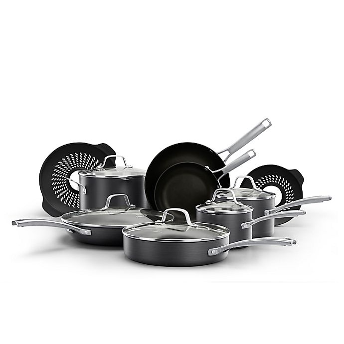 Alternate image 1 for Calphalon® Classic™ 14-Piece Cookware Set with No-Boil-Over Inserts