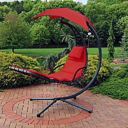 Sunnydaze Floating Chaise Lounger Chair