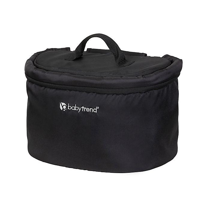 Alternate image 1 for Baby Trend® Stroller Wagon Deluxe Storage Basket in Black
