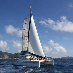 Day Dream Catamaran Private Sunset Sail by Spur Experiences®