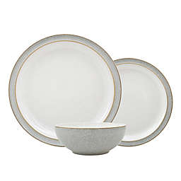 Denby® Elements 3-Piece Place Setting in Light Grey