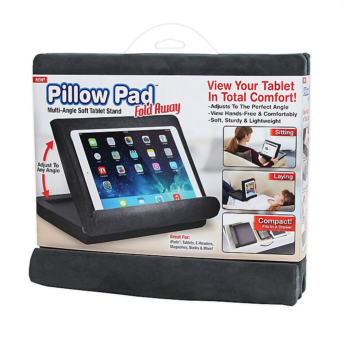 Alternate image 1 for Pillow Pad Foldaway in Grey