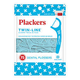 Plackers® 75-Count Twin-Line® Whitening Dental Flosser