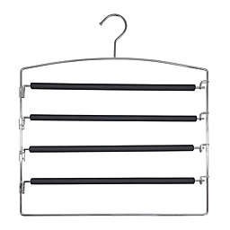 Simply Essential™ 4-Tier Friction Swing Arm Pant Hanger