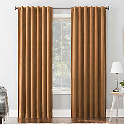 Sun Zero® Amherst Velvet 63-Inch Thermal Total Blackout Curtain Panel in Pecan (Single)