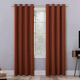 Sun Zero® Oslo Extreme Total Blackout 63-Inch Curtain Panel in Terracotta (Single)