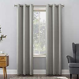 Sun Zero® Mariah Energy Saving Darkening 54-Inch Curtain Panel in Silver Gray (Single)