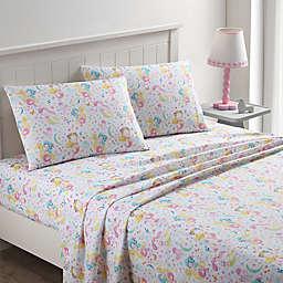 Kute Kids Pretty Mermaids Standard/Queen Pillowcases in Pink (Set of 2)