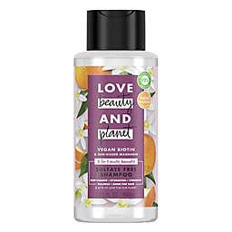 Love Beauty and Planet 13.5 fl. oz. Vegan Biotin & Sun-Kissed Mandarin Shampoo