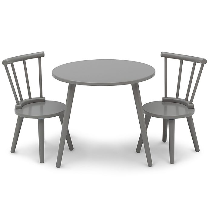 Alternate image 1 for Delta Children Homestead 3-Piece Table and Chair Set