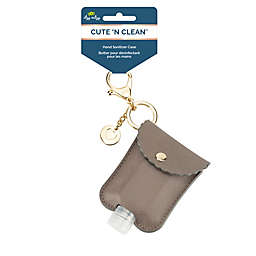 Itzy Ritzy® Hand Sanitizer Diaper Bag Charm in Taupe