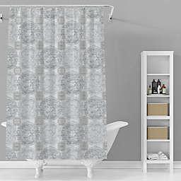 Avanti 72-Inch x 72-Inch Jackson Shower Curtain in Grey/Taupe