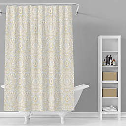Avanti 72-Inch x 72-Inch Kelsey Shower Curtain in Grey