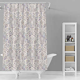 Avanti 72-Inch x 72-Inch Lula Shower Curtain in Grey/Taupe