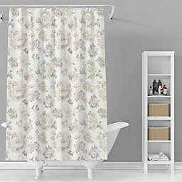 Avanti 72-Inch x 72-Inch Marion Shower Curtain in Grey/Multi