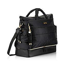 Itzy Ritzy® The Dream Team™ Weekender Fashion Diaper Bag in Black