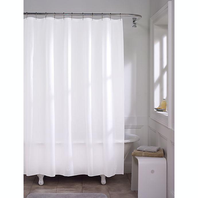 Alternate image 1 for Simply Essential™ Medium Weight PEVA Shower Curtain Liner