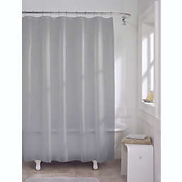 Simply Essential™ 70-Inch x 72-Inch Medium Weight PEVA Shower Curtain Liner in Grey