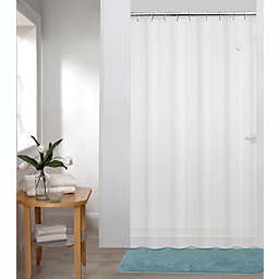 Simply Essential™ 54-Inch x 78-Inch Medium Weight PEVA Shower Curtain Liner in Frost