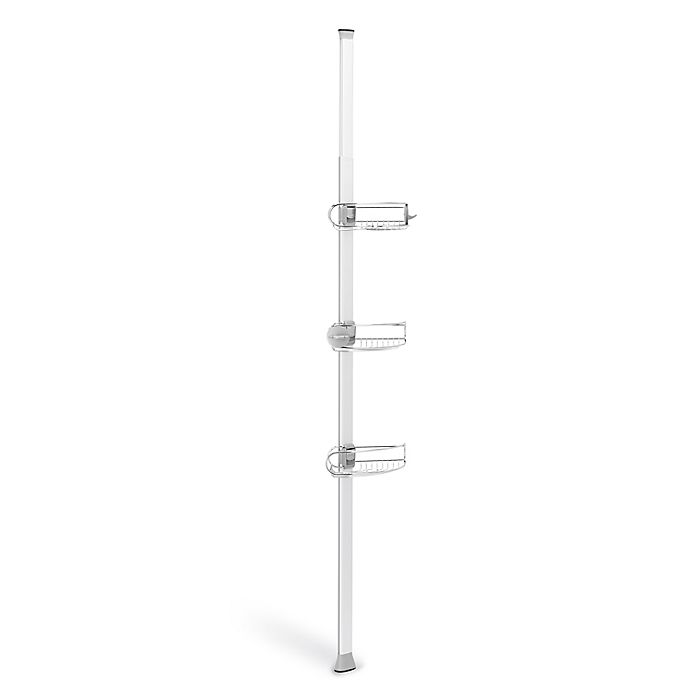 Alternate image 1 for simplehuman® 8-Foot Tension Shower Caddy