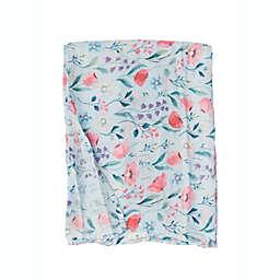 Loulou Lollipop® Bluebell Muslin Swaddle Blanket