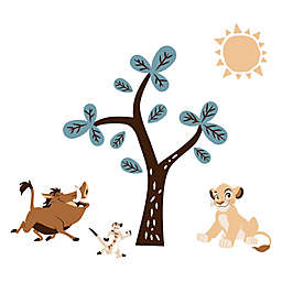 Lambs & Ivy® Lion King Adventure Peel and Stick Wall Decals in Blue/Brown