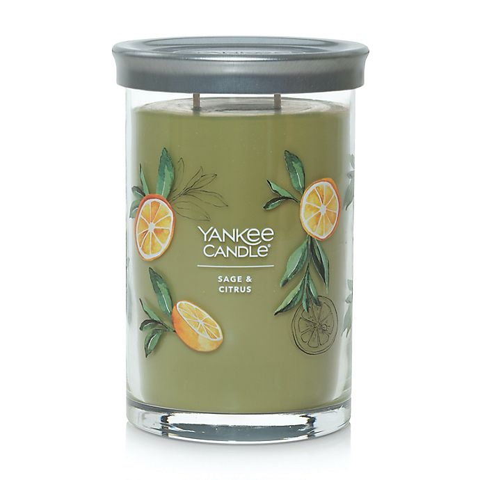 Alternate image 1 for Yankee Candle® Sage & Citrus Signature Collection 20 oz. Large Tumbler Candle