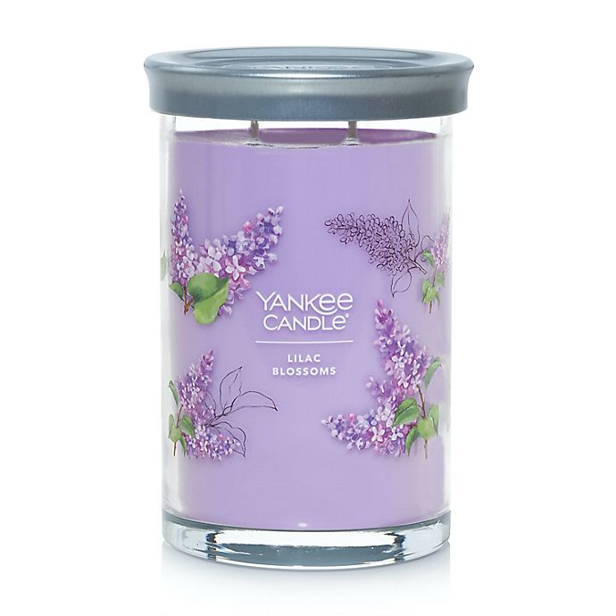 Alternate image 1 for Yankee Candle® Lilac Blossoms Signature Collection 20 oz. Large Tumbler Candle