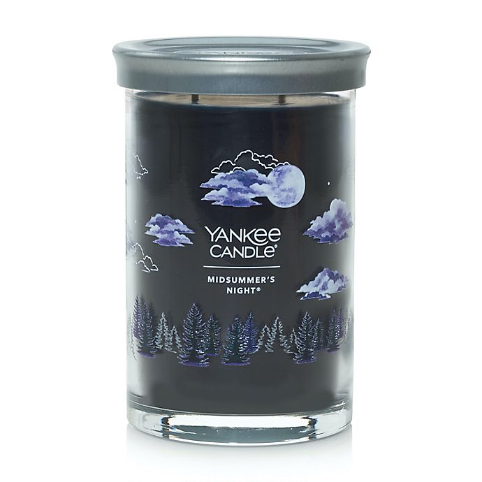 Alternate image 1 for Yankee Candle® MidSummer's Night Signature Collection 20 oz. Large Tumbler Candle