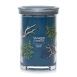 Yankee Candle Bayside Cedar Signature Collection  20 oz. Large Tumbler Candle