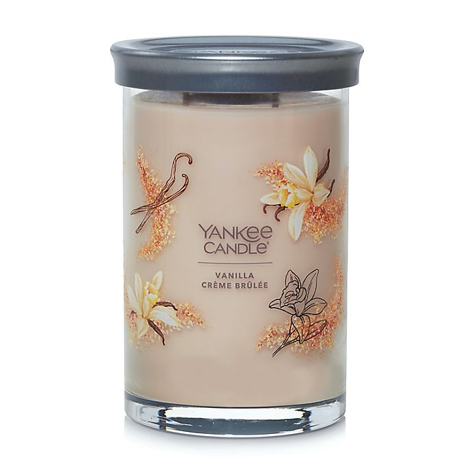 Alternate image 1 for Yankee Candle® Vanilla Creme Brulee Signature Collection 20 oz. Large Tumbler Candle