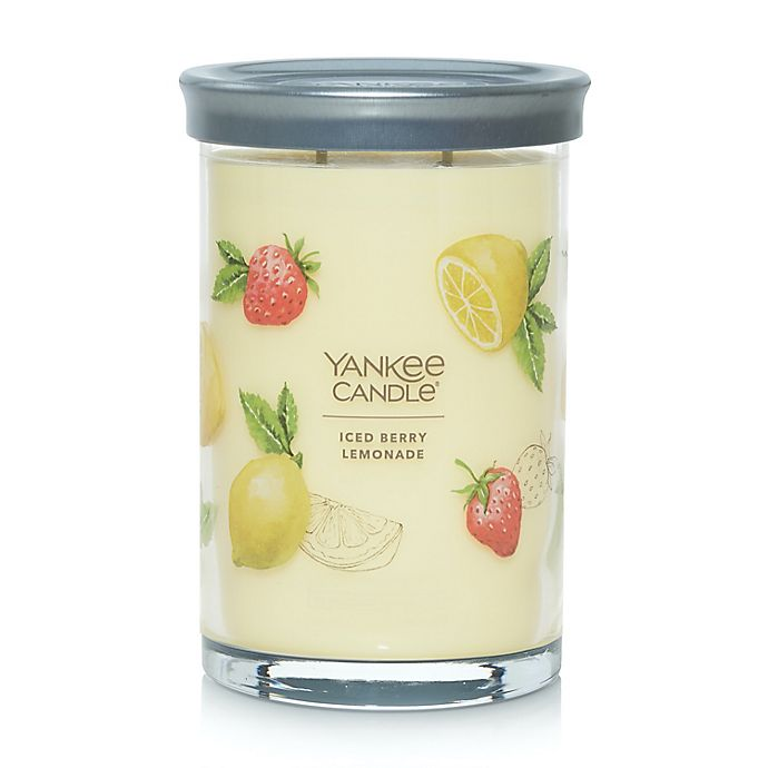 Alternate image 1 for Yankee Candle® Iced Berry Lemonade Signature Collection 20 oz. Large Tumbler Candle