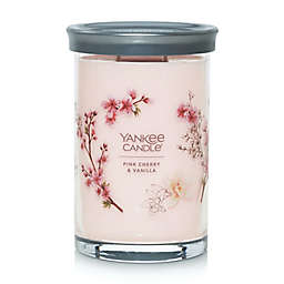 Yankee Candle® Pink Cherry Vanilla Signature Collection 20 oz. Large Tumbler Candle
