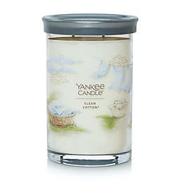 Yankee Candle® Clean Cotton® Signature Collection 20 oz. Large Tumbler Candle