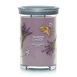 Yankee Candle Dried Lavender & Oak Signature Collection  20 oz. Large Tumbler Candle