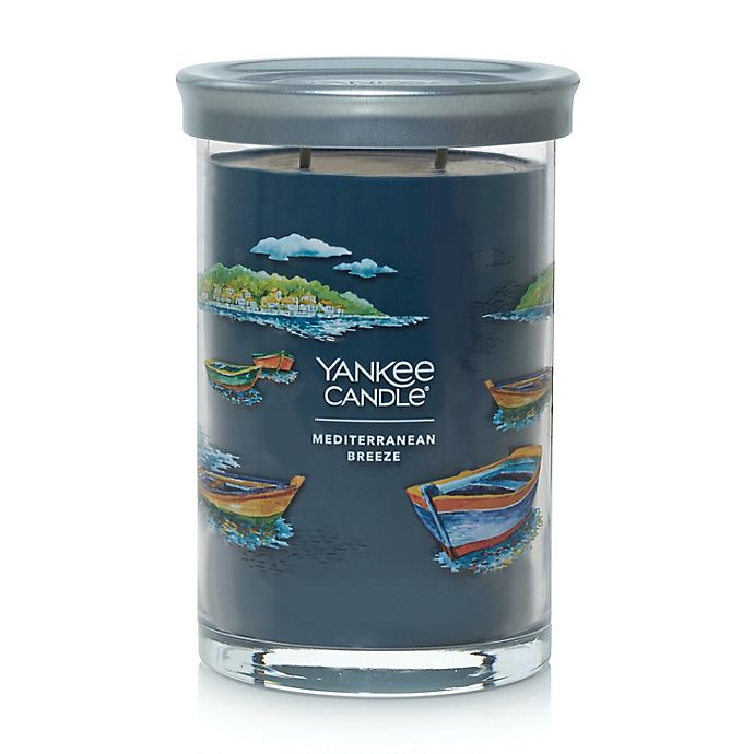 Alternate image 1 for Yankee Candle® Mediterranean Breeze Signature Collection 20 oz. Large Tumbler Candle
