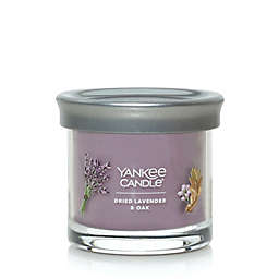 Yankee Candle Dried Lavender & Oak Signature Collection Small Tumbler 4.3 oz. Candle