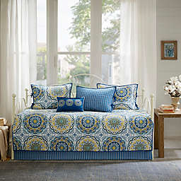 Madison Park Tangiers Daybed Set in Blue