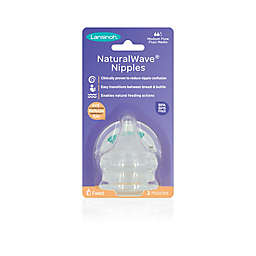 Lansinoh® Momma® 2-Pack Medium Flow NaturalWave™ Nipples
