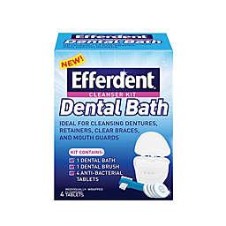 Efferdent® 4-Count Dental Bath Kit