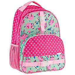 Stephen Joseph® Sloth All Over Print Backpack in Pink