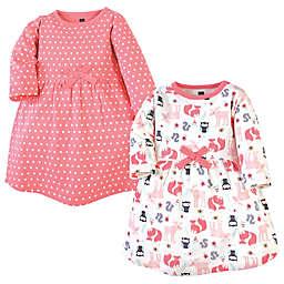 Hudson Baby® 2-Pack Forest Dresses
