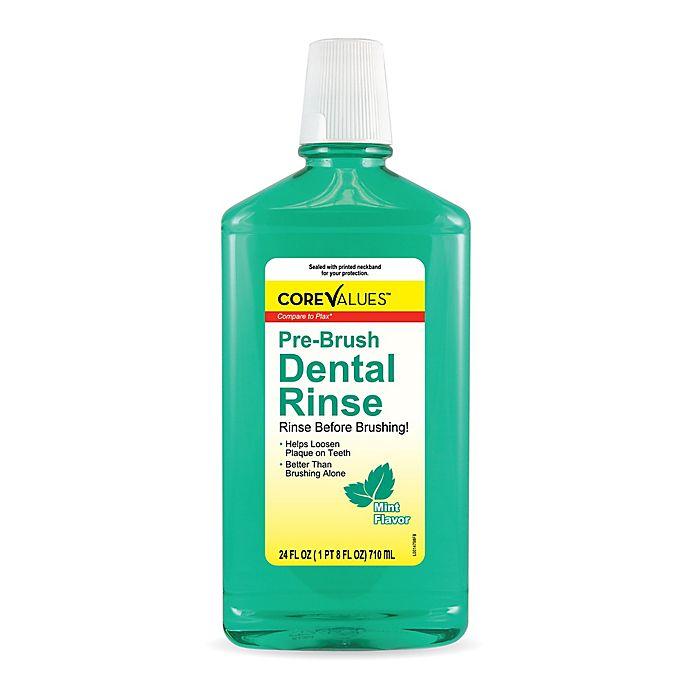 Alternate image 1 for Harmon® Face Values™ 24 oz. Pre-Brush Dental Rinse in Mint