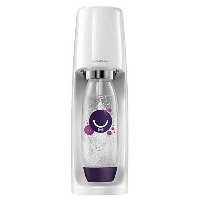 Alternate image 1 for SodaStream® Fizzi™ with Black Berry Bottle Starter Kit in White