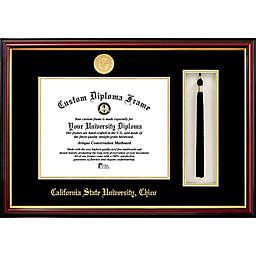 San Jose State University School Seal Graduation Tassel and Diploma Frame