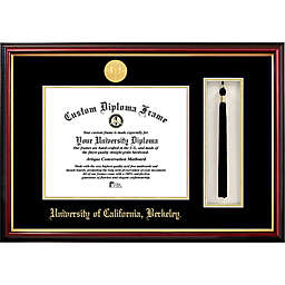 University of California, Berkeley School Seal Graduation Tassel and Diploma Frame
